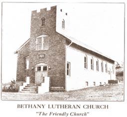 Bethany Lutheran Church History